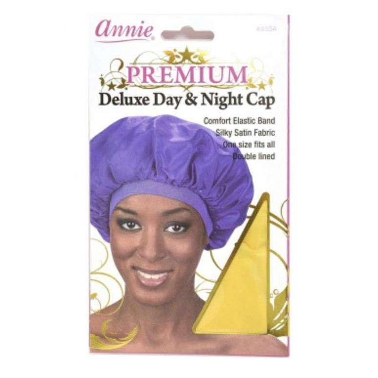 Annie Premium Deluxe Day &­ Night Cap Yellow Universal­ Size #4554