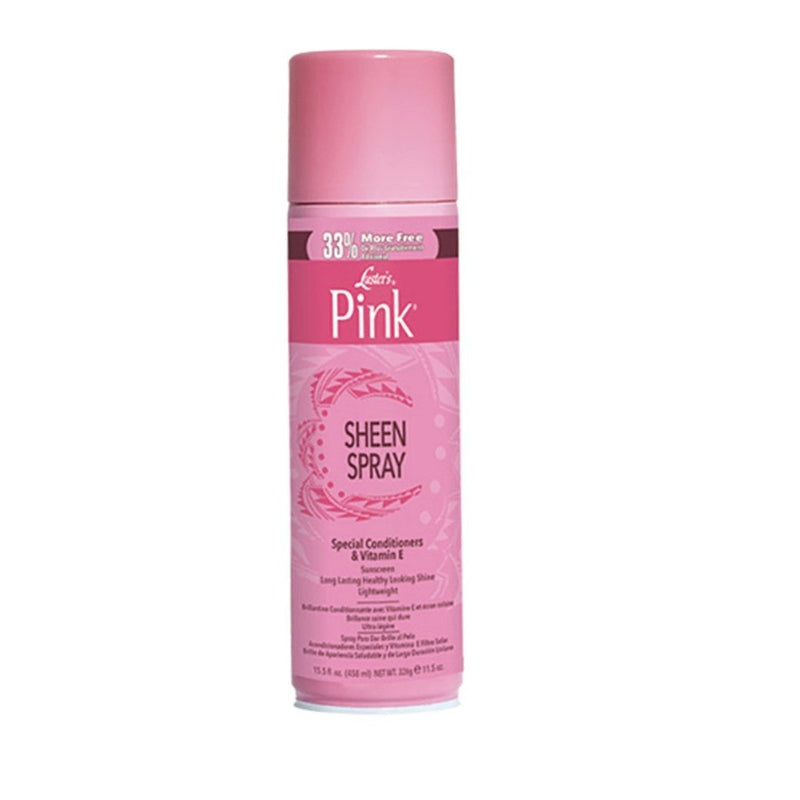 Luster's Pink Oil Sheen Spray 15.5oz
