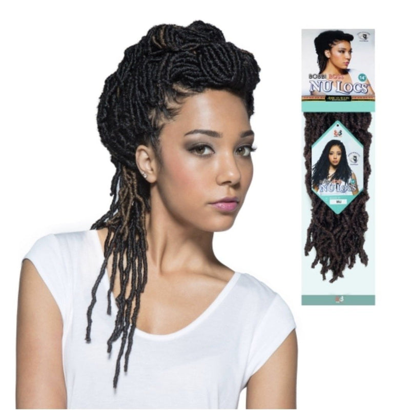 Bobbi Boss Synthetic Hair Crochet Braids African Roots Braid Collection Nu Locs 14