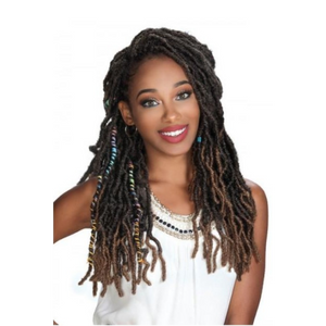 Zury Synthetic Crochet Wiggle Loc Braid 18""