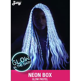 Zury Glow in the Dark Box Braids / GLOW Box 25