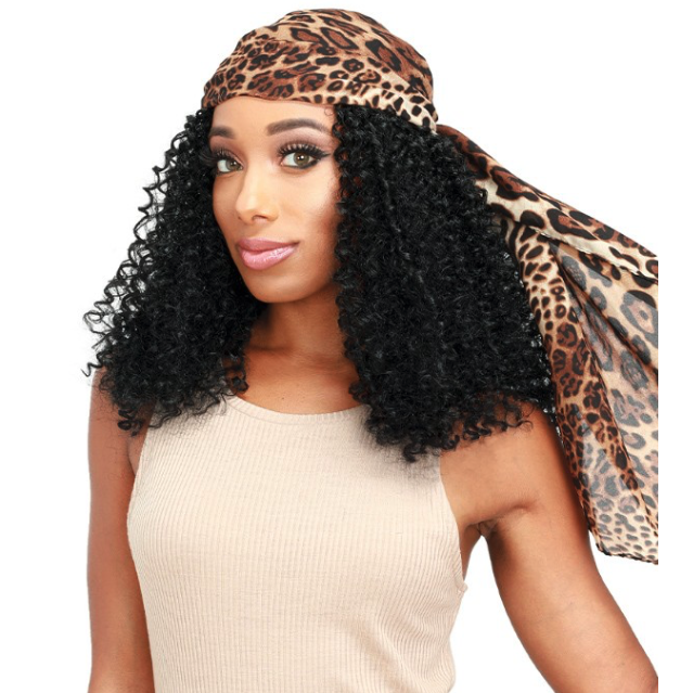 ZURY SIS SYNTHETIC SCARF WIG - SF H CINTO