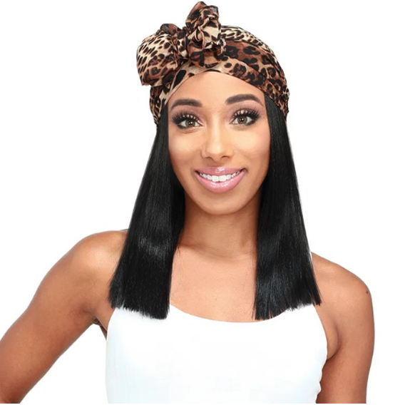 ZURY SIS SYNTHETIC SCARF WIG - SF H TROY