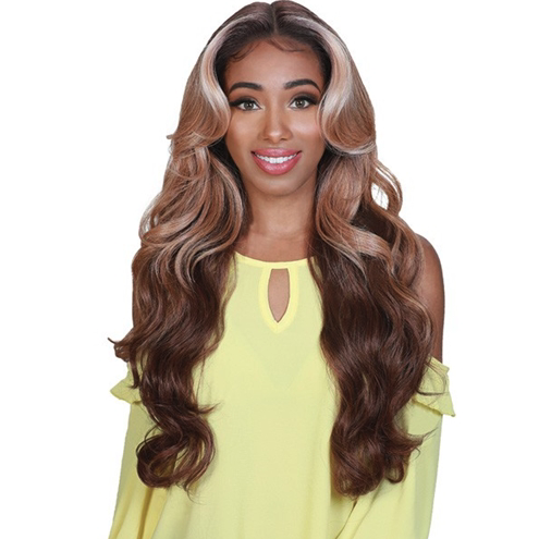 Zury Sis Royal Swiss Lace Synthetic Hair Lace Front Wig - LACE H CHILL