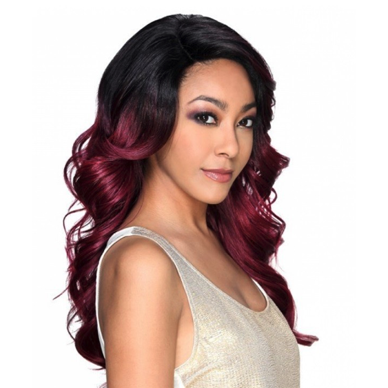 Zury Sis Synthetic Invisible Top Part Lace Wig IV- Lace H Ari