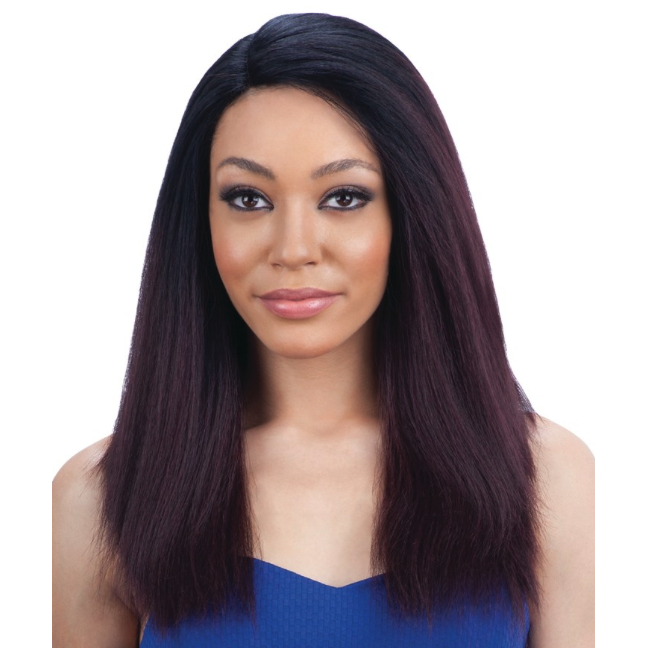 MODEL MODEL DEEP INVISIBLE L PART LACE FRONT WIG WHITE MEADOW
