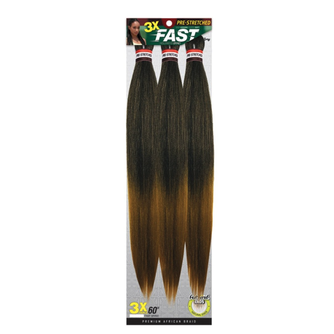Zury Synthetic Braid - 3x Fast Braids