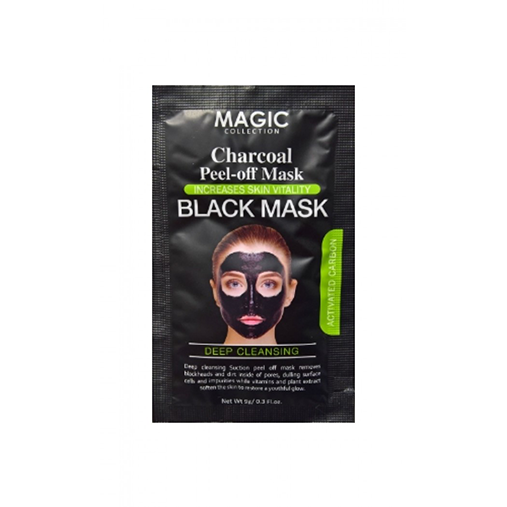 Magic Collection Deep Cleansing Charcoal Peel-Off Black Mask 0.3 OZ