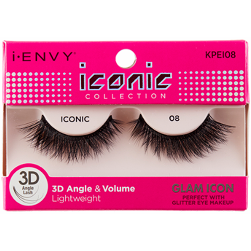 Kiss I Envy Iconic Collection lashes Glam Icon KPEI08