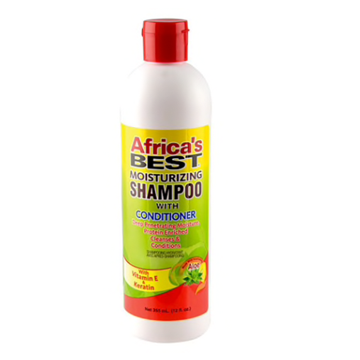 Africa's Best Moisturizing Shampoo with Conditioner 12 oz