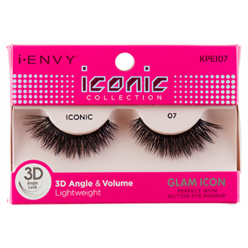 Kiss I Envy Iconic Collection lashes Glam Icon KPEI07