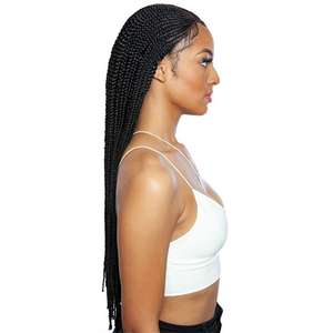 Mane Concept Red Carpet Synthetic Invisible Braid Lace Wig RCBI01 Nicki 28""