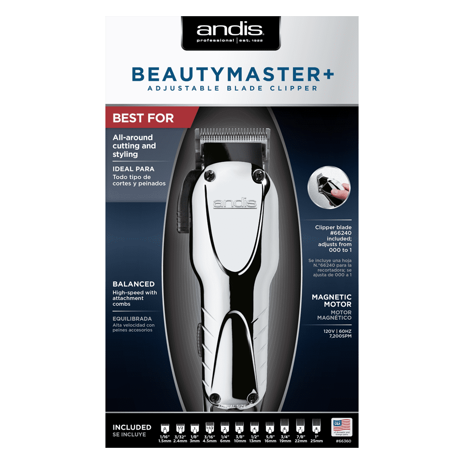Andis Beauty Master+ Clipper