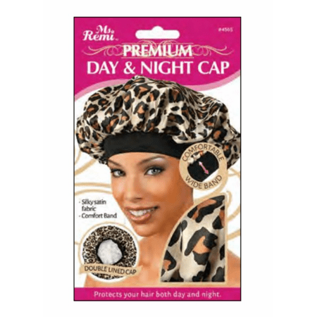 Annie Ms. Remi Deluxe Day and Night Cap XL Leopard #4565