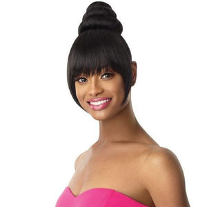 OUTRE PRETTY QUICK SYNTHETIC BUN & BANG AURELIA 2PCS
