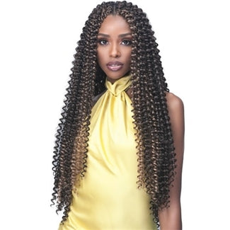 Bobbi Boss African Roots Crochet Braid - 2X BRAZILIAN WATER CURL 20