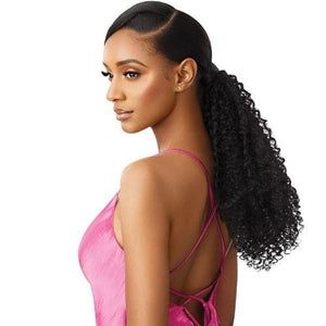 OUTRE SYNTHETIC PRETTY QUICK WRAP PONYTAIL - BOHEMIAN COILS 18""