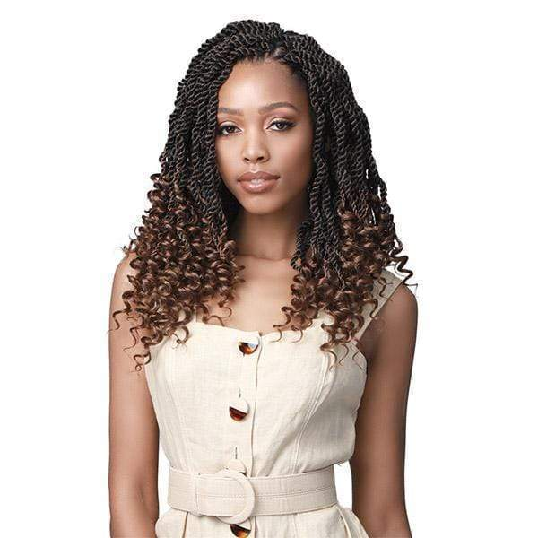 Bobbi Boss Wavy Senegal Twist Curly Tips 2X Braid - 14""