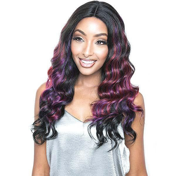Mane Concept Brown Sugar Human Hair StyleMix Lace Wig - BSV202 NATURAL RIPPLE DEEP 22""