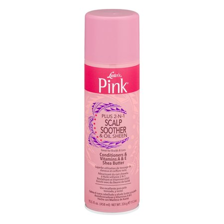 Luster's Pink Plus 2-IN-1 Scalp Soother & Oil Sheen, 15.5 oz