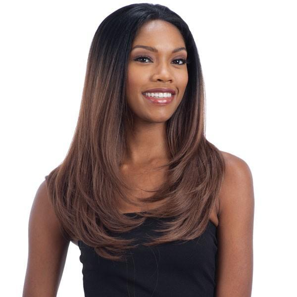 Model Model Hand-Tied Frontal Lace Wig FIA