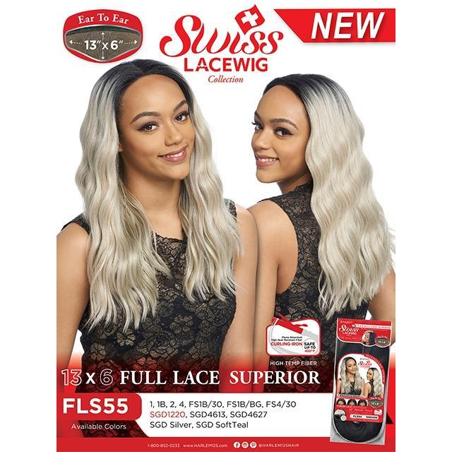Harlem 125 13x6 Swiss Full Lace Wig - FLS55