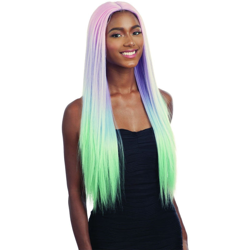 FreeTress Equal Synthetic Premium Delux Watercolor Lace Front Wig – Evlyn 30