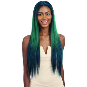 FreeTress Equal Synthetic Premium Delux Watercolor Lace Front Wig – Evlyn 30""