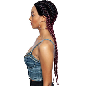 Mane Concept Red Carpet Synthetic Invisible Braid Lace Wig RCBG01 Hera 28""