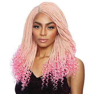 Mane Concept Red Carpet Inspire Braid Lace Part Wig RCIB204 CURLY ENDS SENEGAL TWIST 20