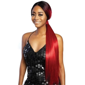 Mane Concept Synthetic Red Carpet Low Pony Lace Front Wig - RCLP01 - KIM