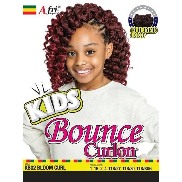 Mane Concept Afri Naptural Kids Bounce Curlon BLOOM CURL Braid (KB02)