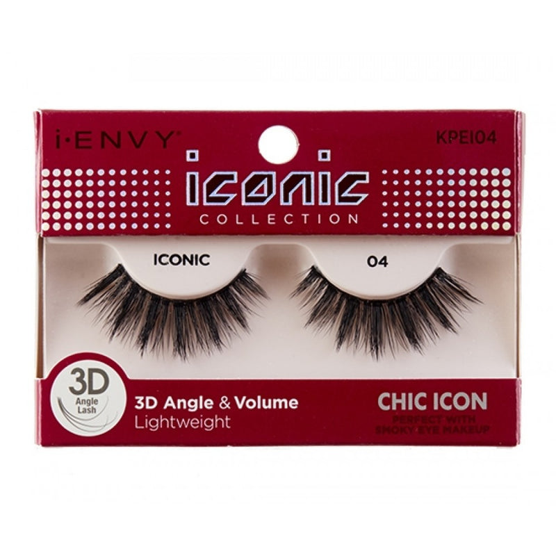 Kiss i-ENVY Chic Icon Lashes Iconic 04 KPEI04