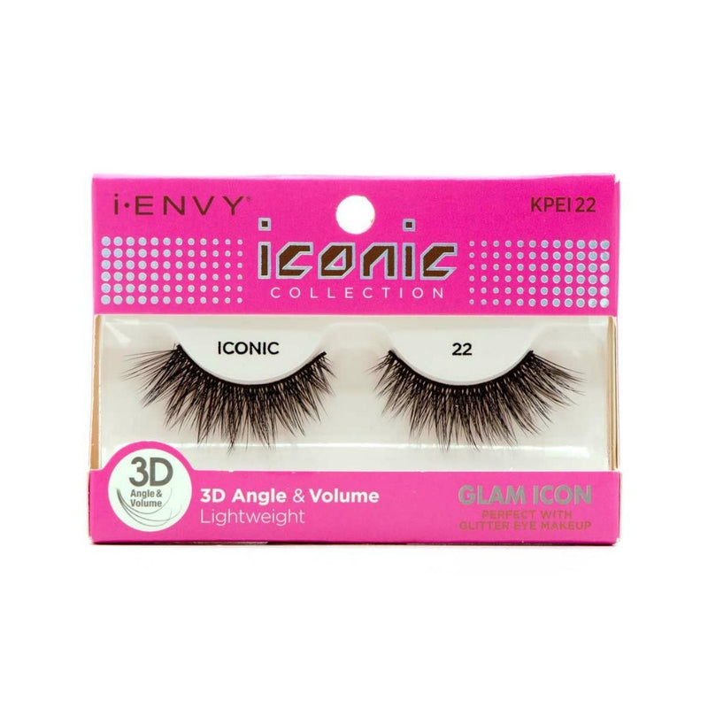 Kiss i-ENVY Glam Icon Lashes Iconic 22 KPEI22