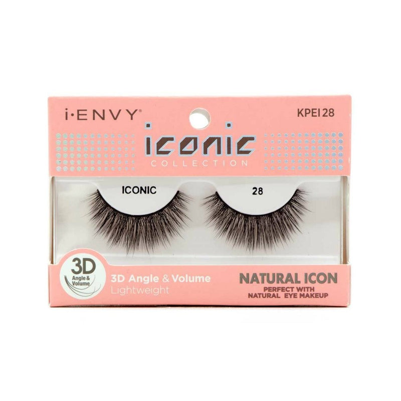 Kiss i-ENVY Natural Icon Lashes Iconic 28 KPEI28