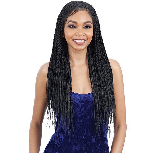 Model Model 11x4 Braided Lace Wig LEMONADE BRAID