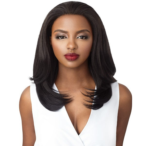 OUTRE SYNTHETIC QUICK WEAVE HALF WIG - MACY