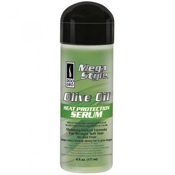 DOO GRO MEGA STYLE OLIVE OIL HEAT PROTECTION SERUM 6 OZ