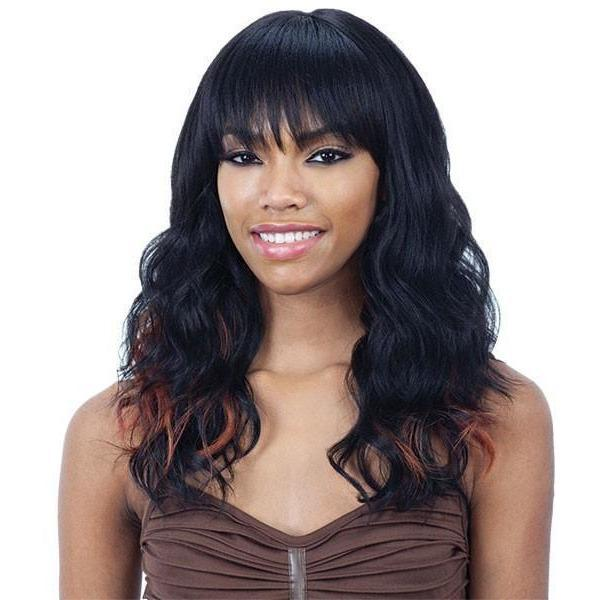 Model Model 100% Hand-Tied Synthetic Swiss Lace Front Wig – Evanna