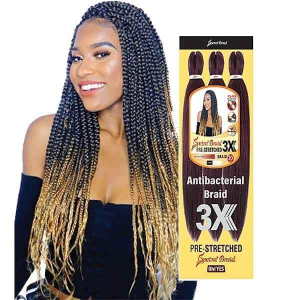Oh Yes Hair Spetra Pre-Stretched Synthetic Braid - 3X EZ BRAID 26""