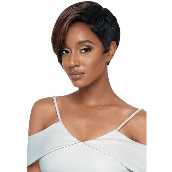 OUTRE SYNTHETIC QUICK WEAVE COMPLETE CAP WIG - NAYA