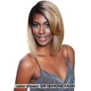 Mane Concept Red Carpet Swoop Bang Lace Front Wig - PARROT