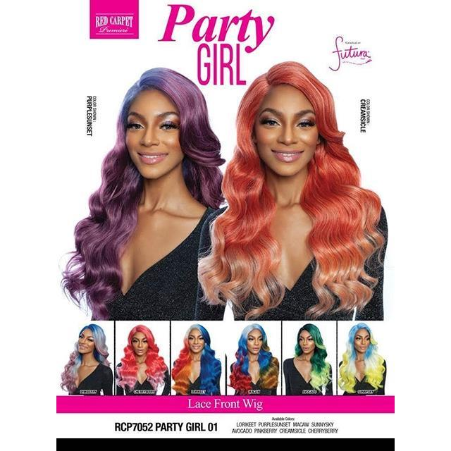 Mane Concept Red Carpet Lace Front Wig - RCP7052 PARTY GIRL 01
