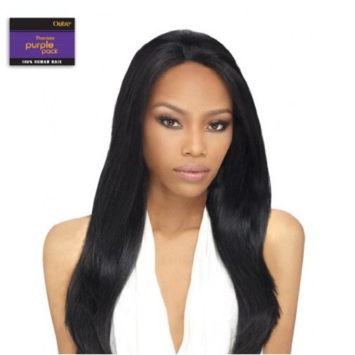 Outre Premium Purple Pack Yaki Human Hair Weave