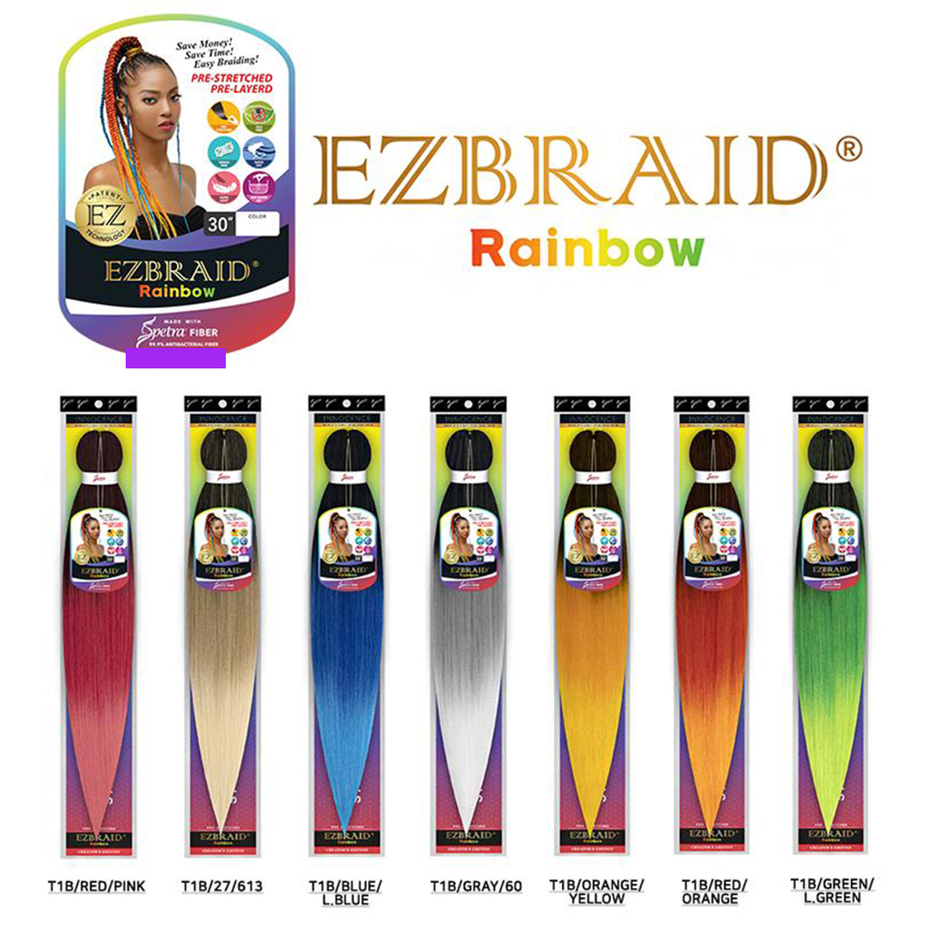 Innocence Hair Spetra Synthetic Braid - EZ BRAID RAINBOW 30""
