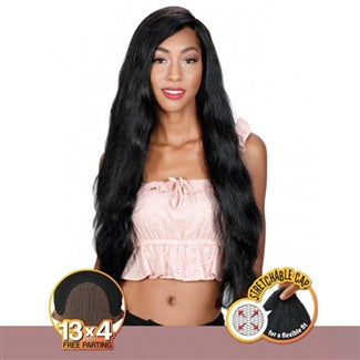 Zury 100% Brazilian Virgin 13x4 Free Parting Lace Front Wig HRH BRZ FP Lucky