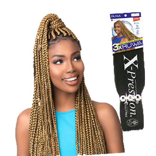 Sensationnel Synthetic Braid - 3X RUWA AquaTex PRE LAYERED BRAID (Water Repellent / Fast Drying)