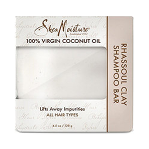 SheaMoisture 100% Virgin Coconut Oil Daily Hydration Clay Shampoo Bar