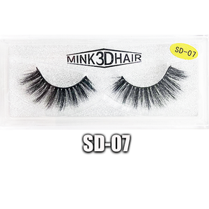 Mink 3D Lashes SD-07