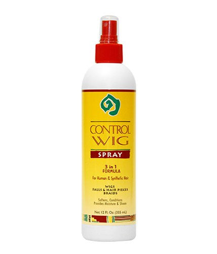African Essence Control Wig Spray 3 IN 1 FORMULA 12 OZ
